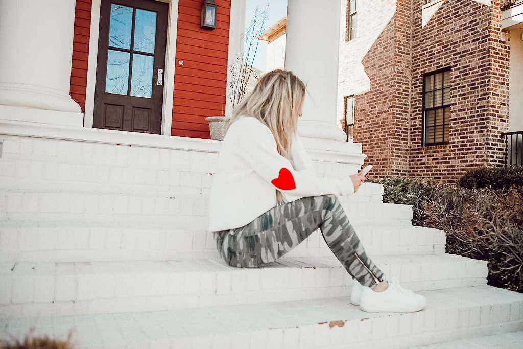 Valentine's Outfit | Chicwish Heart Elbows | Audrey Madison Stowe a fashion and lifestyle blogger