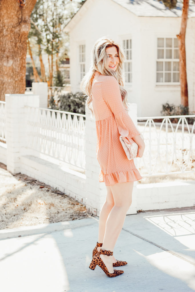 Frilly Valentine's Outfit | Audrey Madison Stowe a fashion and lifestyle college blogger - Frilly Valentines Outfit by popular Texas fashion blogger Audrey Madison Stowe