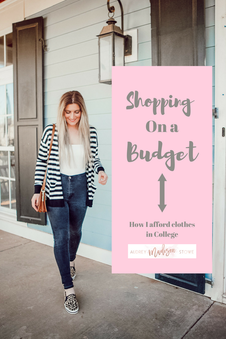 Shopping On A Budget | How I Afford Clothes in College