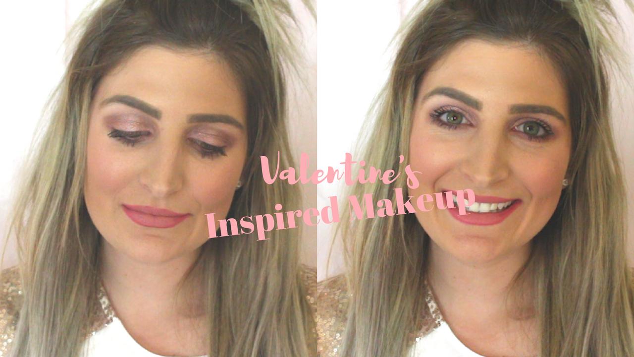 Valentines Makeup: Rose Gold Eyes