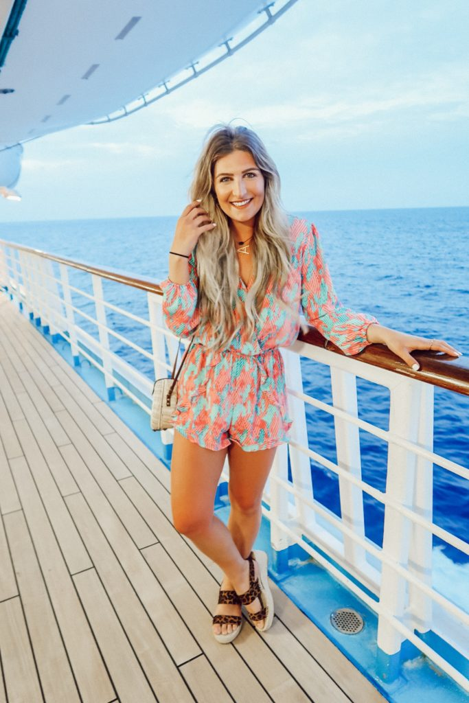 5 Day Cruise For Spring Break | What We Did | Audrey Madison Stowe A fashion and lifestyle blogger - 5 Day Cruise: What We Did, Ate, First Experience by popular Texas travel blogger Audrey Madison Stowe