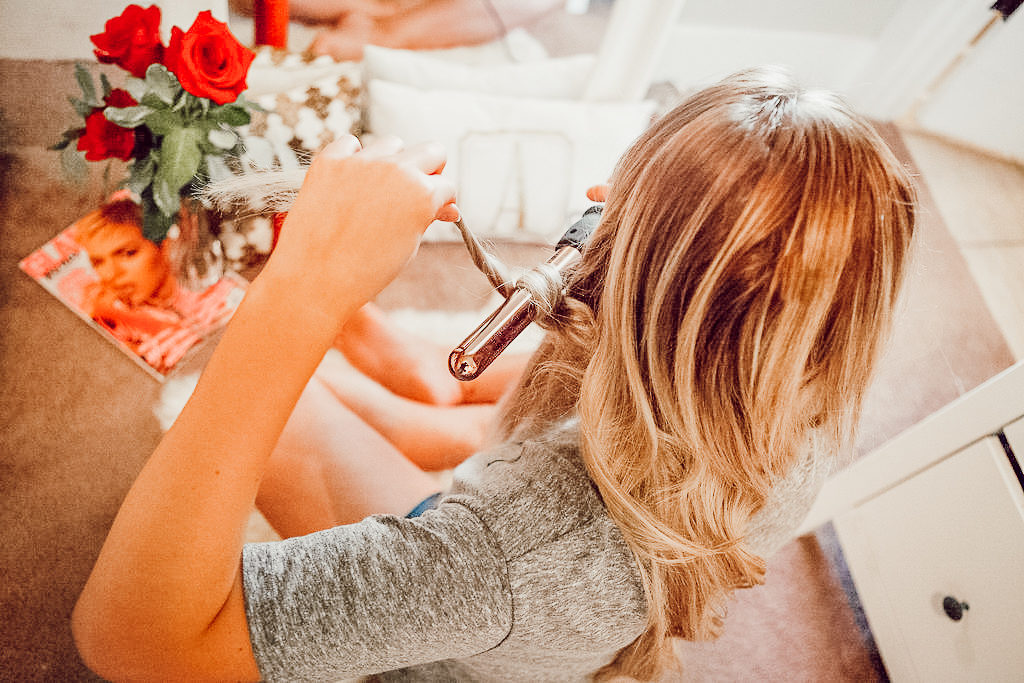 Bouncy Spring Curls For Spring With Bombay Hair   Hair Tutorial Inspo   Audrey Madison Stowe a Fashion and Lifestyle Blogger