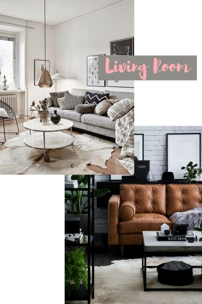 Apartment Move-in Inspiration | Living Room | Audrey Madison Stowe a fashion and lifestyle blogger - New Apartment Mood Board by popular Texas lifestyle blogger Audrey Madison Stowe