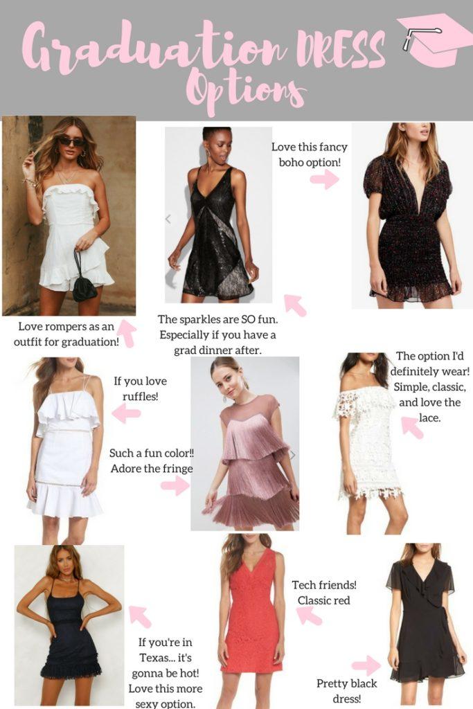 Graduation 2018 Dress Ideas | Audrey Madison Stowe a fashion and lifestyle blog - Graduation Dress Ideas by popular Texas fashion blogger Audrey Madison Stowe