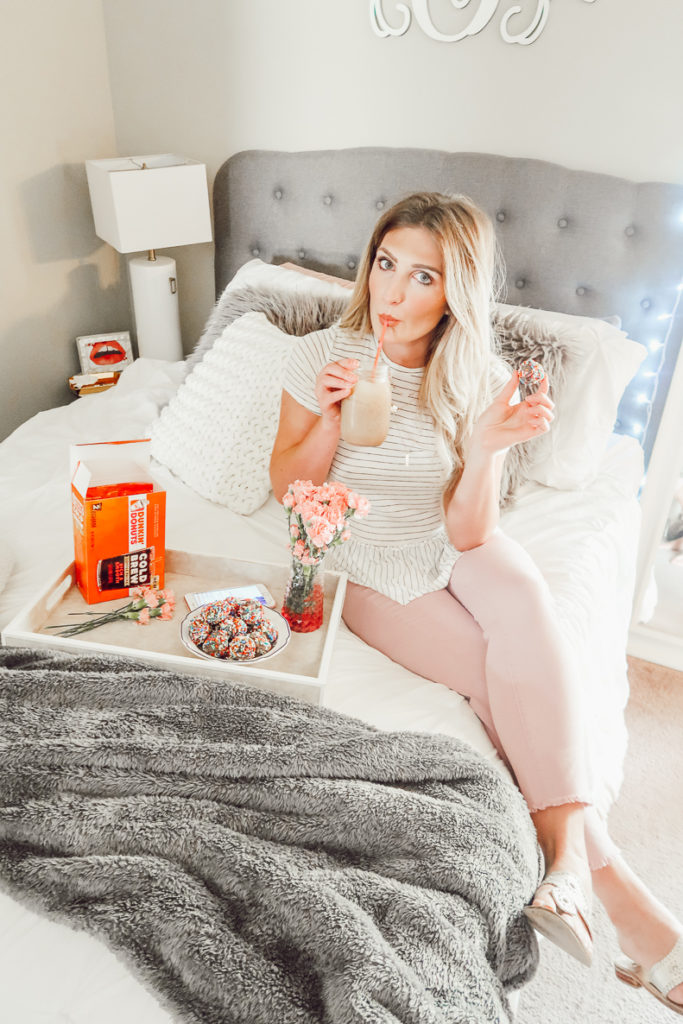 My Cold Brew Review | Dunkin Donuts | Audrey Madison Stowe a fashion and lifestyle blogger