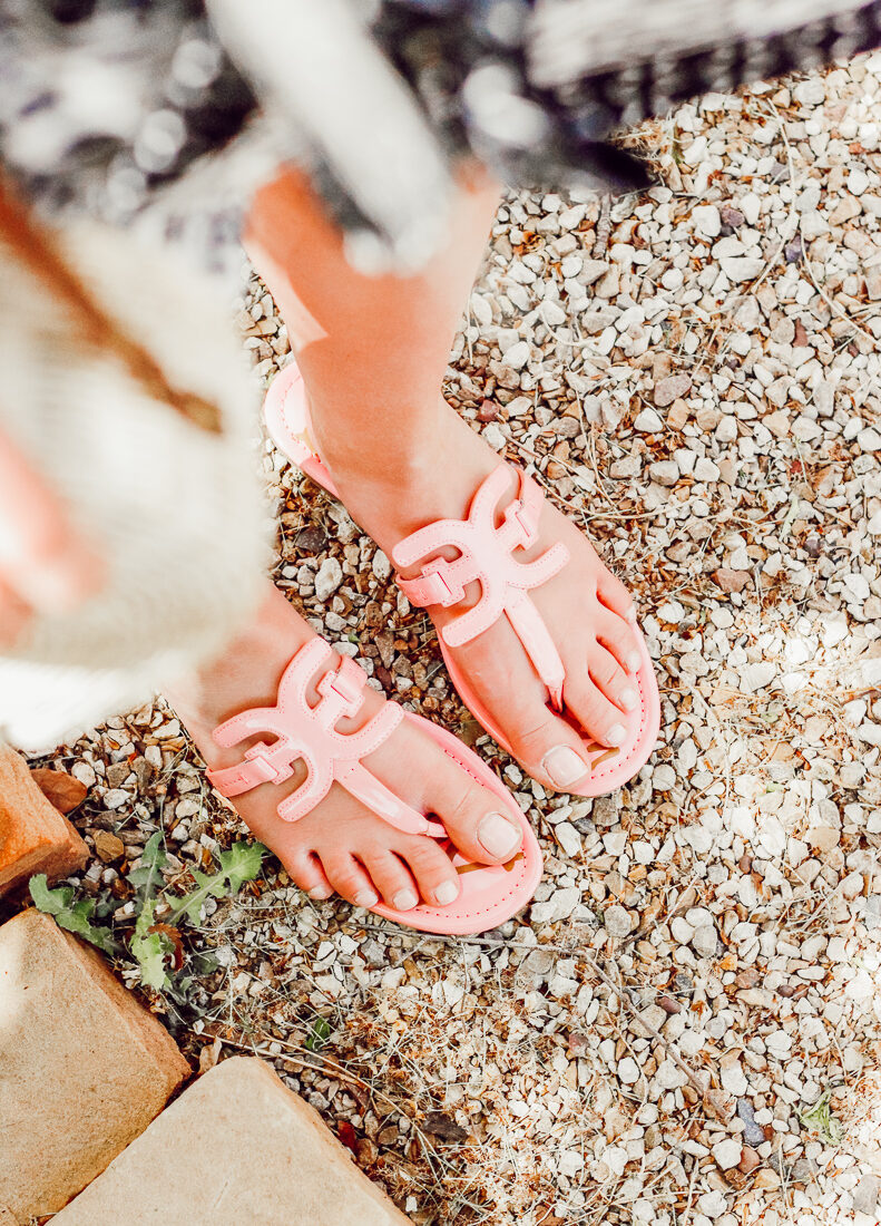 Pink Spring Sandals With Zappos