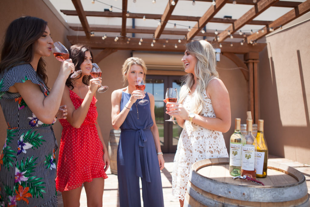 National Wine Day | Llano Winery | Audrey Madison Stowe a fashion and lifestyle blogger - National Wine Day With Your Girlfriends by popular Texas lifestyle blogger, Audrey Madison Stowe