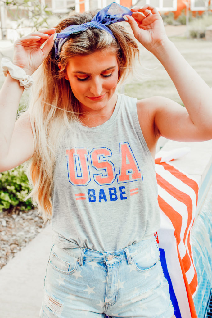 4th Of July Outfit Inspiration | Audrey Madison Stowe a fashion and lifestyle blogger - 4th Of July Outfit Inspiration | From The Pool to A Cookout featured by popular Texas fashion blogger, Audrey Madison Stowe