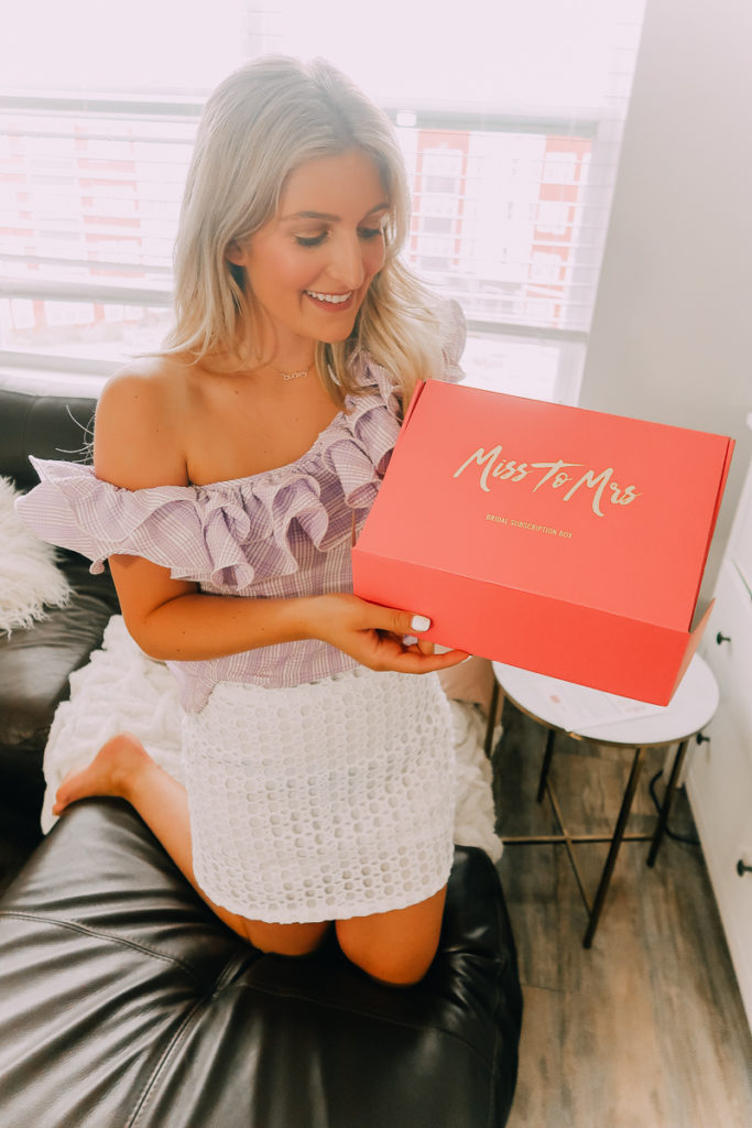 Miss to Mrs Box | Perfect Gifts For Brides + NORDSTROM GIVEAWAY! featured by popular Texas lifestyle blogger Audrey Madison Stowe