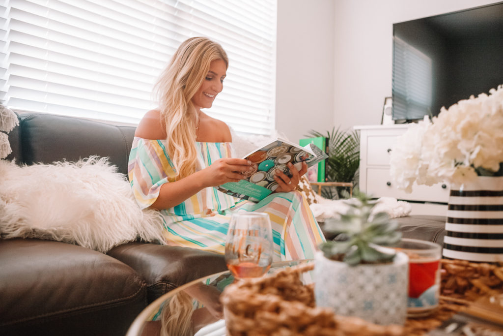 Apartment Living Room Reveal | Welcome To Our Crib | Home Tour featured by popular Texas life and style blogger Audrey Madison Stowe