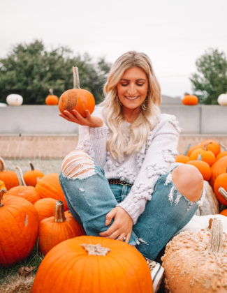 10 Cozy Fall Sweaters To Add To Your Wardrobe | Audrey Madison Stowe a fashion and lifestyle blogger | Pumpkin Patch and cute sweater