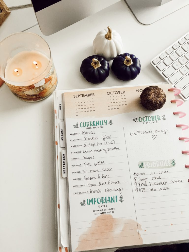 The Happy Planner | #AMSCurrently October | Current Favorites #2 featured by top Texas fashion blog Audrey Madison Stowe