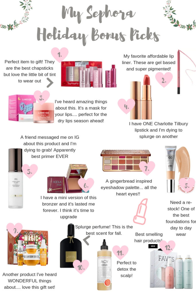 Makeup | Winter Beauty | My Sephora Favorites For The Holiday Bonus Sale featured by top Texas beauty blog Audrey Madison Stowe