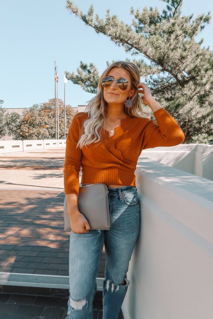 Cute Thanksgiving Outfit | Fall Style | Audrey Madison stowe a fashion and lifestyle blogger
