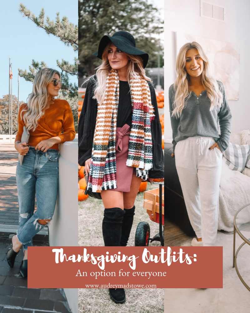 Thanksgiving Outfit Lookbook | An Outfit for Everyone