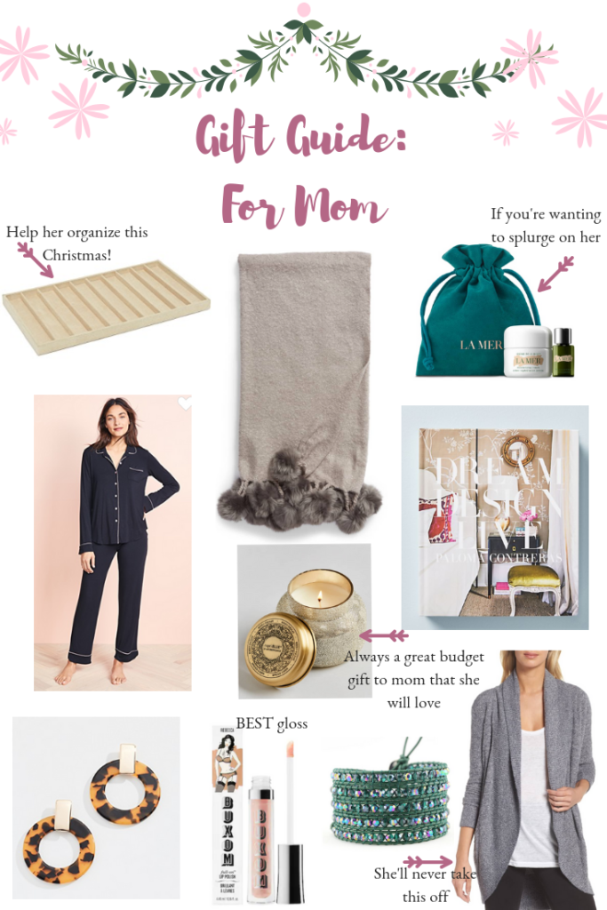 Gift Guide For Mom | Audrey Madison Stowe a fashion and lifestyle blogger