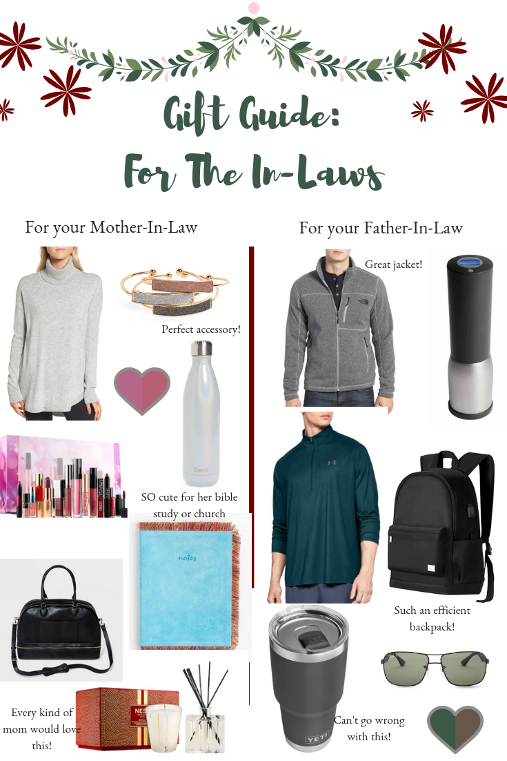 Gift Guide For the In-Laws