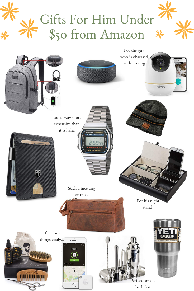 Best Holiday Gifts For Him Under $50 From Amazon