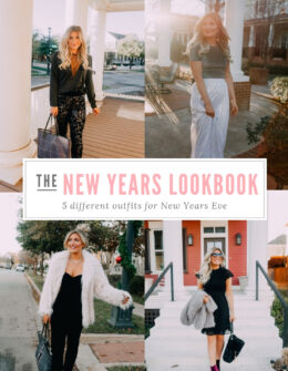 New Years Eve Lookbook | Audrey Madison Stowe a fashion and lifestyle blogger