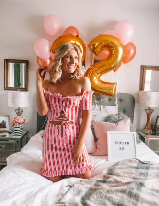 Feelin' 22   22nd Birthday Announcement shoot   Audrey Madison Stowe a fashion and lifestyle blogger