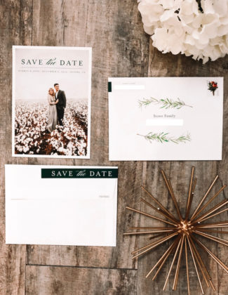 Our Save The Dates with Minted | Wedding Save the Dates | Audrey Madison Stowe a fashion and lifestyle blogger