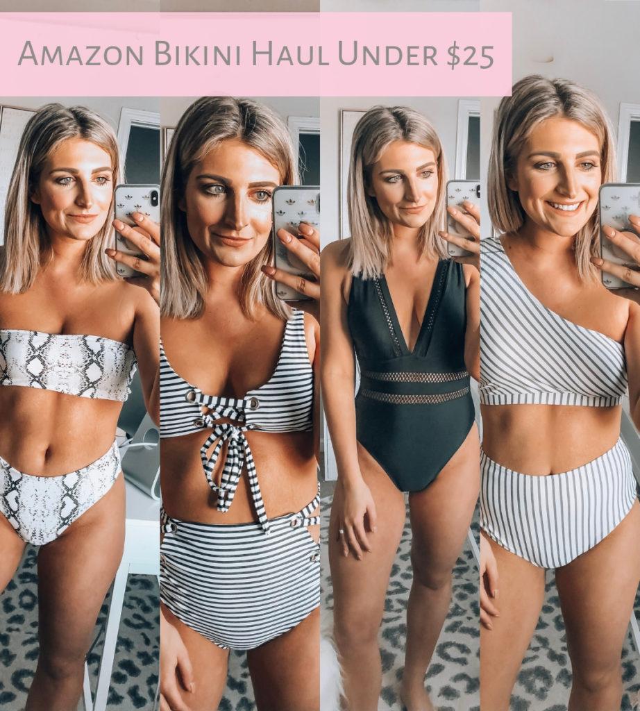 Amazon Swimsuits Under $25   Affordable bikinis   Audrey Madison Stowe a fashion and lifestyle blogger