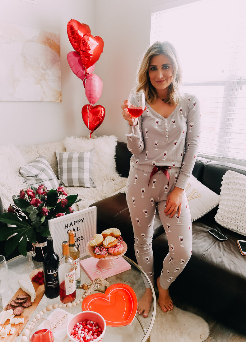 How to Throw a fun Galentine's Pajama Night In   Galentine's Day   Audrey Madison stowe a fashion and lifestyle blogger