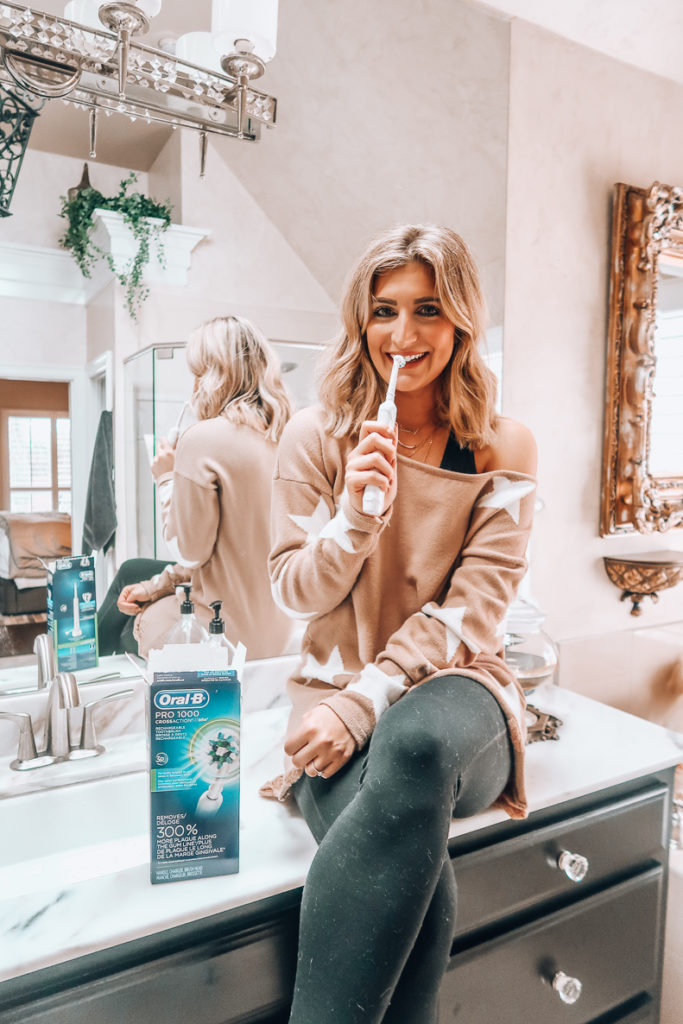 On the Go with Oral-B | Perfect toothbrush to travel with | Audrey Madison Stowe a fashion and lifestyle blogger