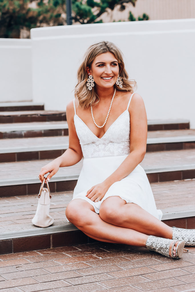 What to Wear For Your Engagement Party | Wedding Wednesday | David's Bridal Collab | Audrey Madison stowe a fashion and lifestyle blogger