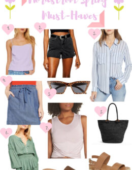 Top Nordstrom Spring Must-Haves 2019 | Audrey Madison Stowe a fashion and lifestyle blogger