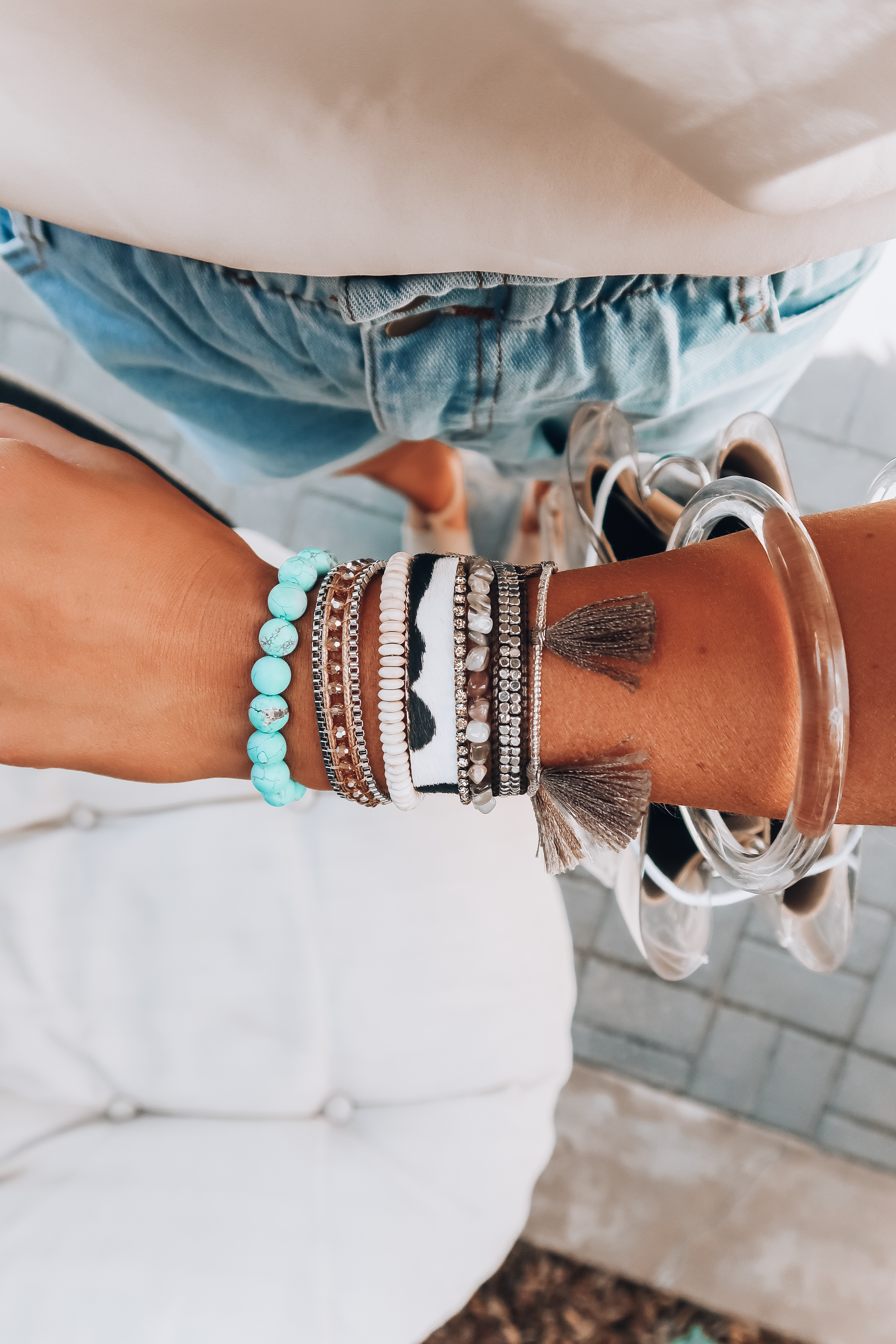 Spring 2019 Bracelets | My Arm Stack | Audrey Madison Stowe a fashion and lifestyle blogger