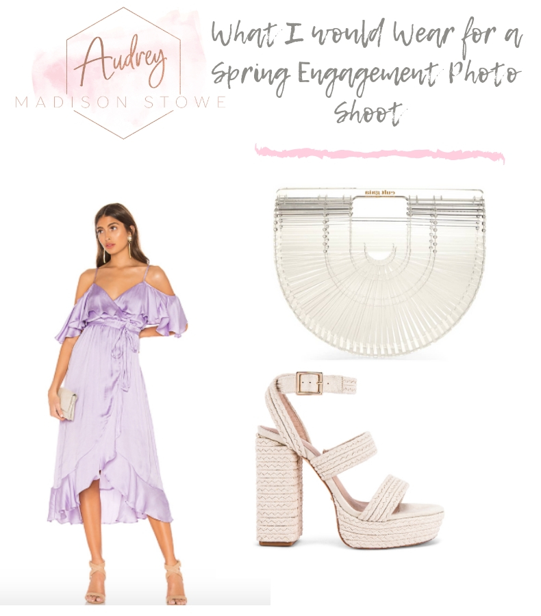 What to Wear For Engagement Photos in the Spring | Audrey Madison Stowe a fashion and lifestyle blogger in Texas