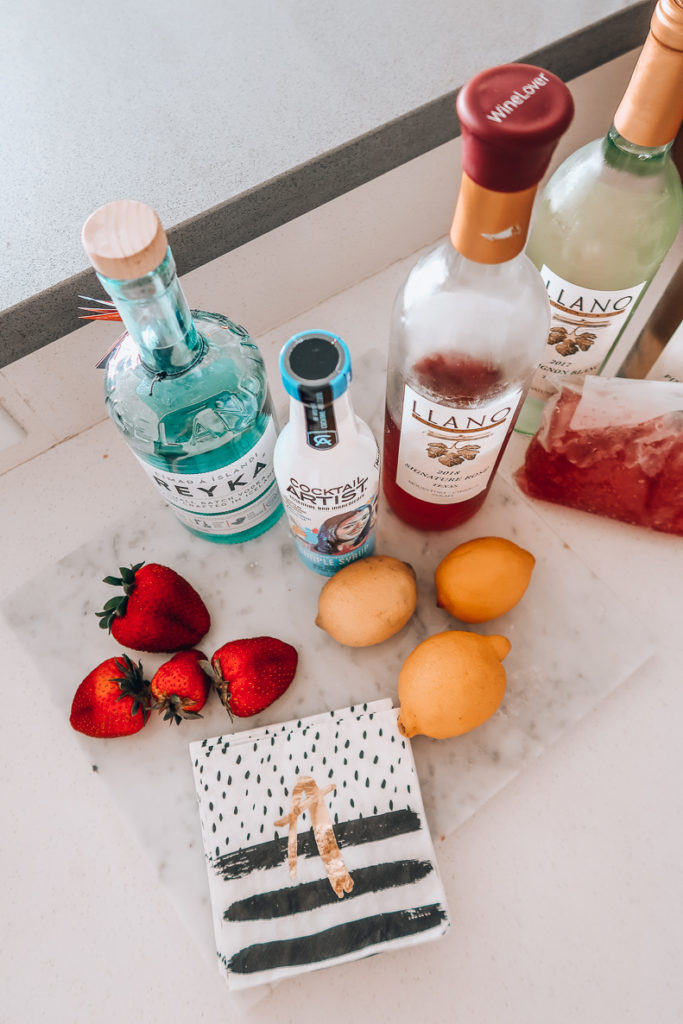 Boozy Frosè Recipe for National Wine Day | Audrey Madison Stowe a fashion and lifestyle blogger