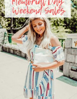 Memorial Day Weekend Sales | Audrey Madison Stowe a fashion and lifestyle blog