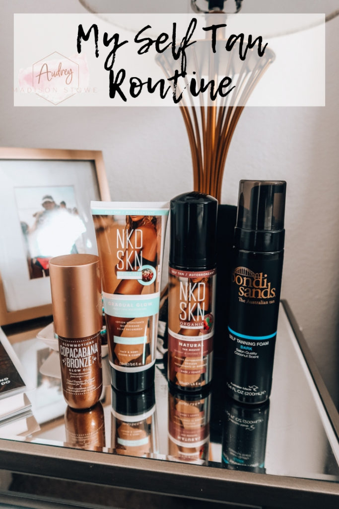 My Self Tan Routine | Audrey Madison Stowe a fashion and lifestyle blogger