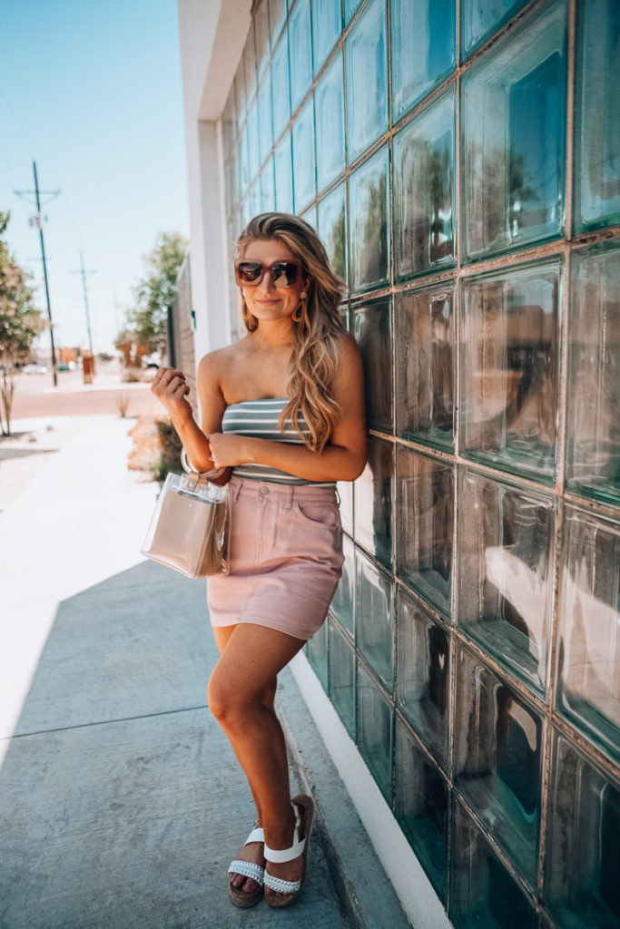 How To Style A Tube Top 3 Ways   Audrey Madison Stowe a Fashion and Lifestyle Blogger