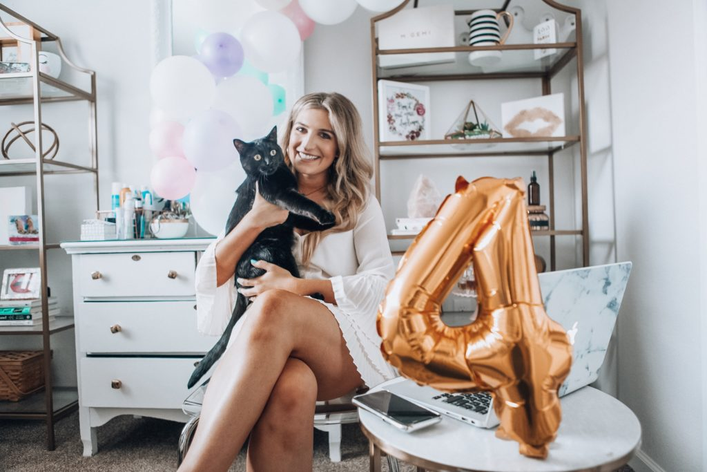 Four Year Blogiversary For a Fashion Blog | Audrey Madison Stowe a fashion and lifestyle blogger