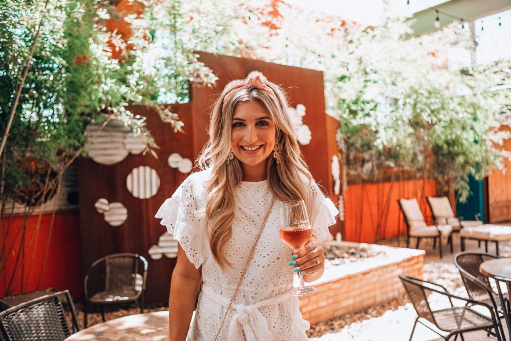 Little White Dress | Rehearsal Dress | Audrey Madison Stowe a fashion and lifestyle blogger