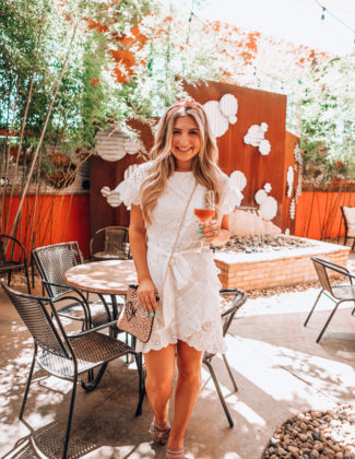 Little White Dress   Rehearsal Dress   Audrey Madison Stowe a fashion and lifestyle blogger