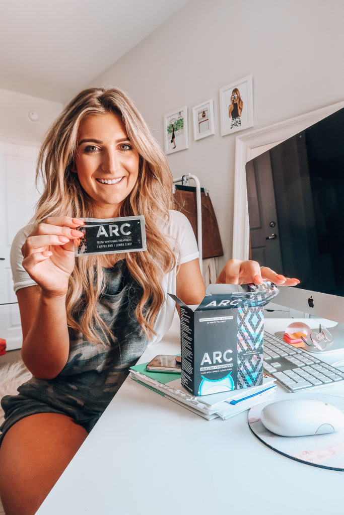 Target's Newest Teeth Whitening Device | ARC Teeth Whitening | Audrey Madison Stowe a fashion and lifestyle blogger