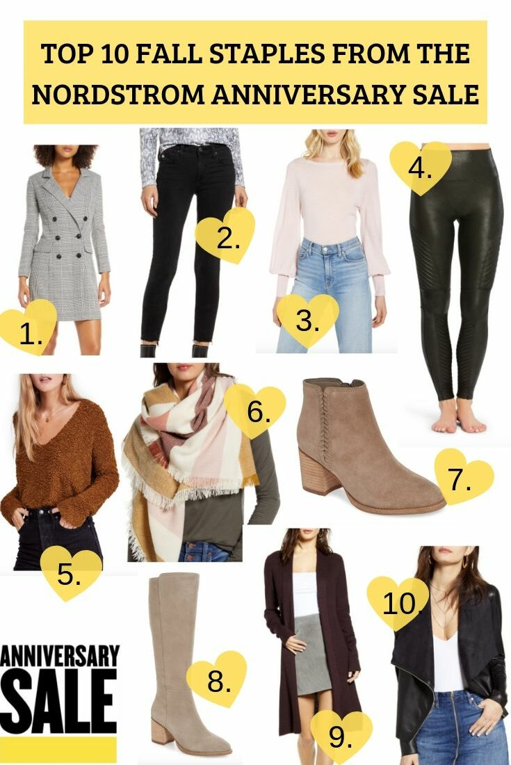 Top 10 Fall Staples From Nordstrom Anniversary Sale 2019