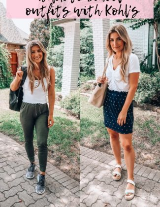 Back To School With Kohl's | Casual outfits for college | Audrey Madison Stowe a fashion and lifestyle blogger