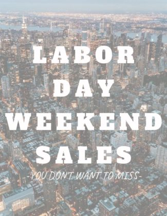 Labor Day Weekend Sales | Audrey Madison Stowe a fashion and lifestyle blogger