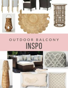Outdoor Balcony Inspo | My Boho plans for outdoors | Audrey Madison Stowe a fashion and lifestyle blogger