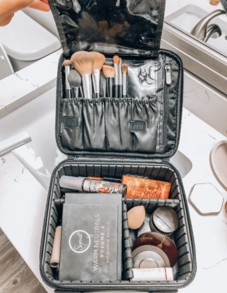 Travel Makeup Case | Audrey Madison Stowe