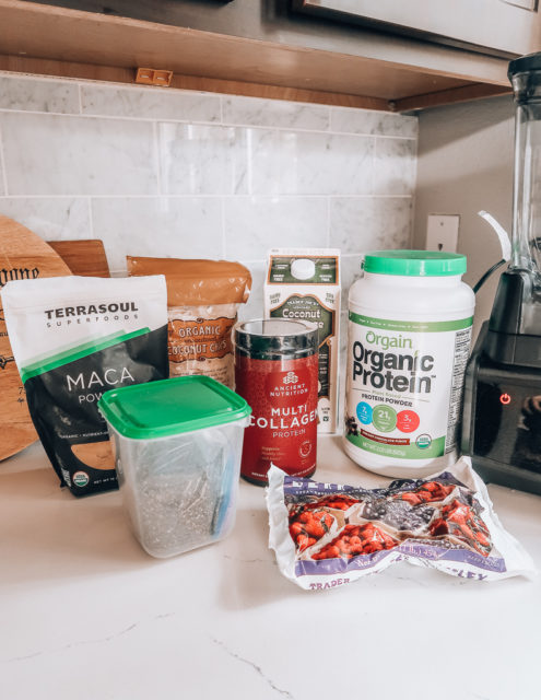 Protein Smoothie Recipe   Audrey Madison Stowe a fashion and lifestyle blogger