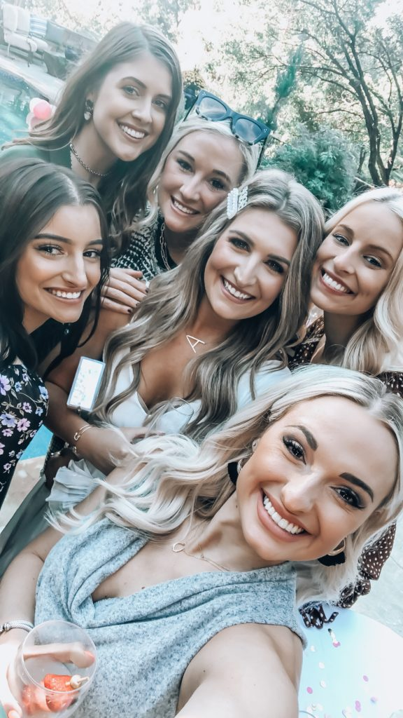 Girly Dallas Bridal Shower | Bridal Shower girls | Audrey Madison Stowe a fashion and lifestyle blogger