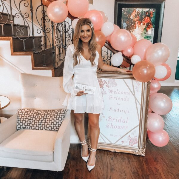 Dallas Bridal Shower Outfit | Audrey Madison Stowe a fashion and lifestyle blogger