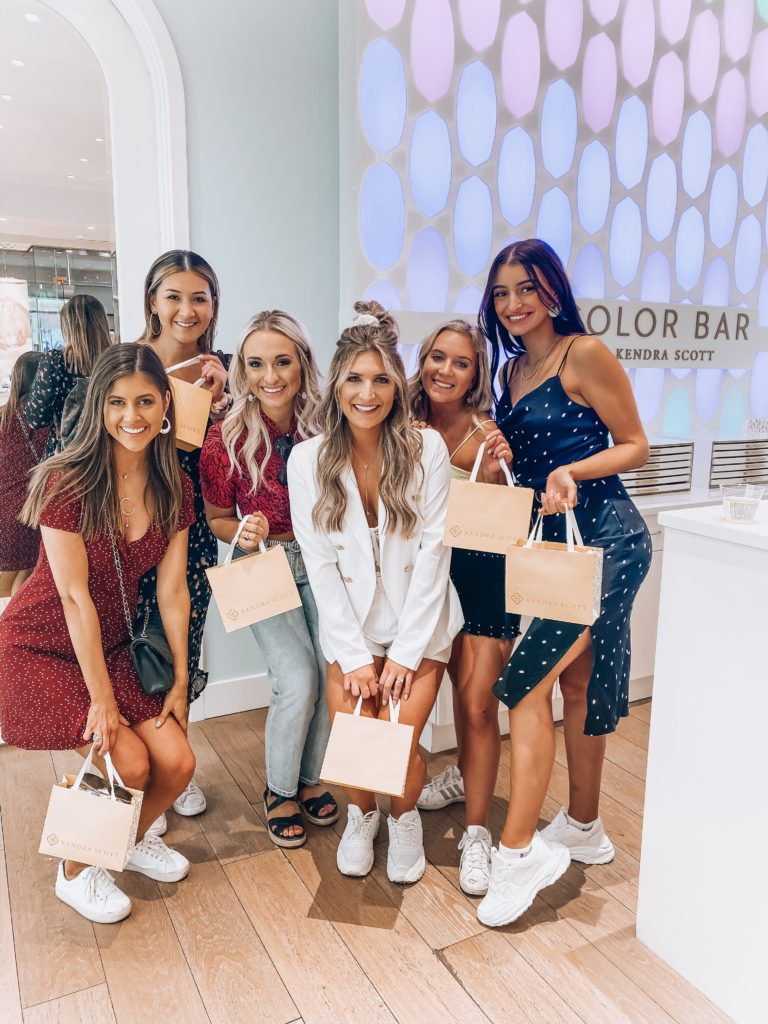 Kendra Scott Color Bar Party For Bachelorette