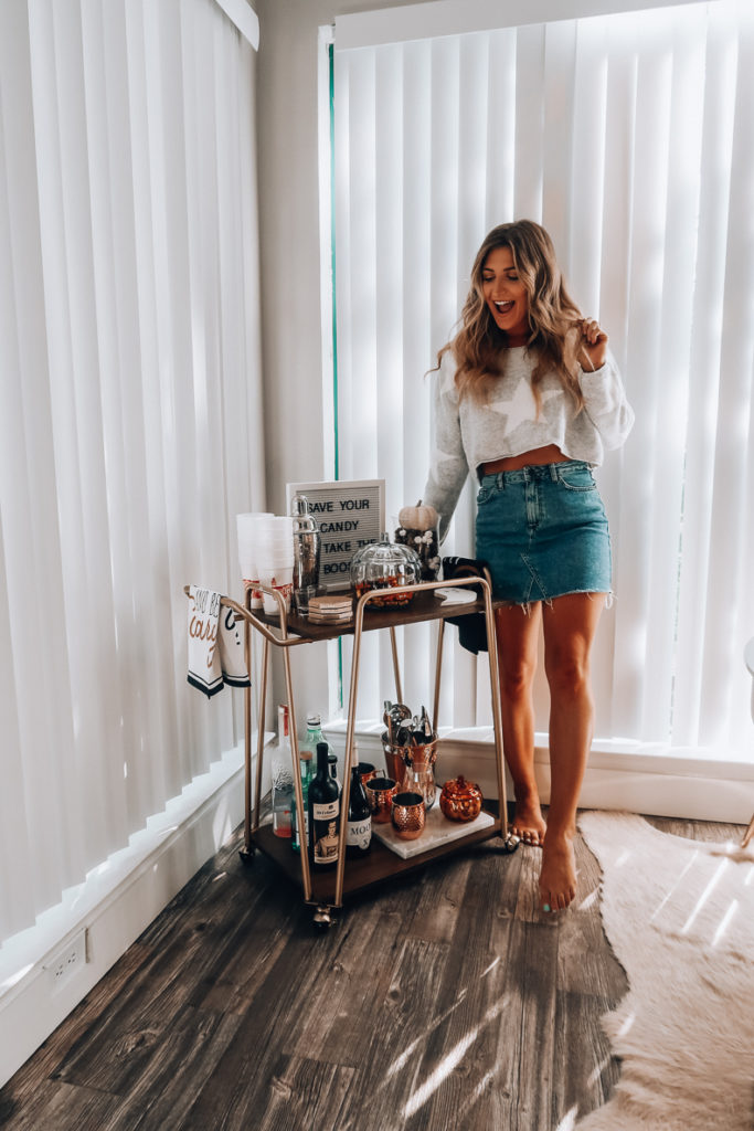 fall bar cart | Instagram Roundup | Fall 2019 | Audrey Madison Stowe a fashion and lifestyle blogger